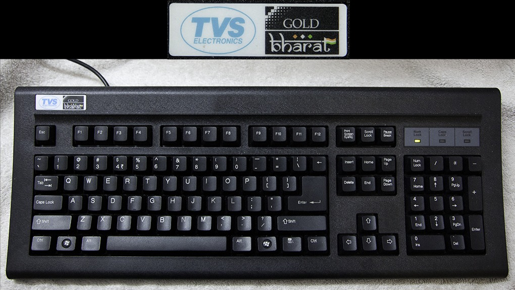 TVS Gold Mechanical Keyboard